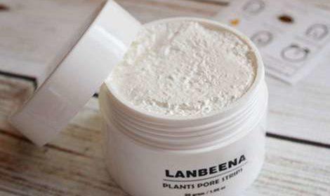 Открытая банка крема Lanbeena