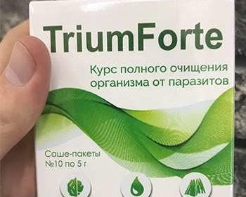 Упаковка препарата ТриумФорте